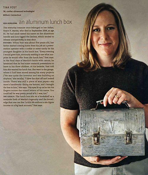 Aluminum lunchbox