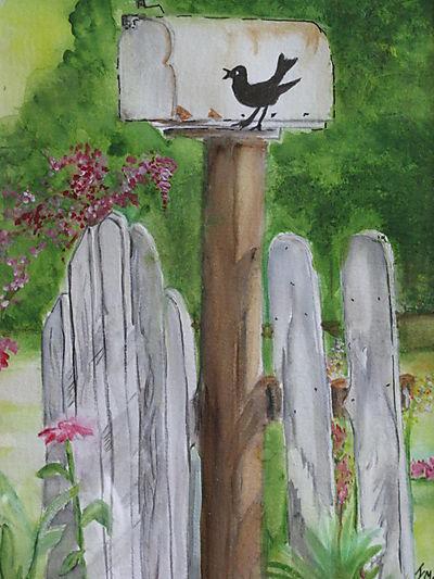 Mailbox path painting