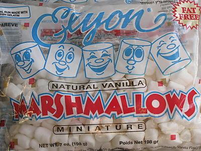 Natural marshmallows