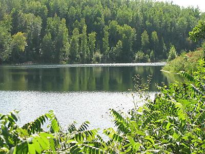 Cuyuna Mine Pit Lake