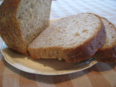 Honey whole wheat oatmeal bread