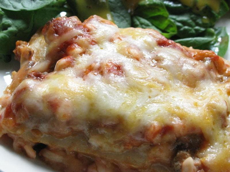 Lucy's lasagna