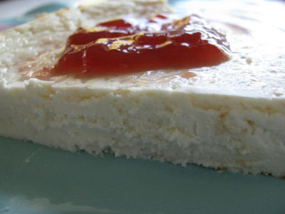 Clean cheesecake