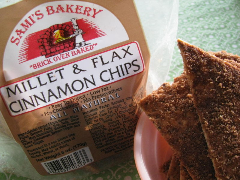 Sami's Bakery millet and flax chips