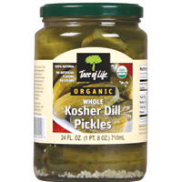 Tree of life dill pickles