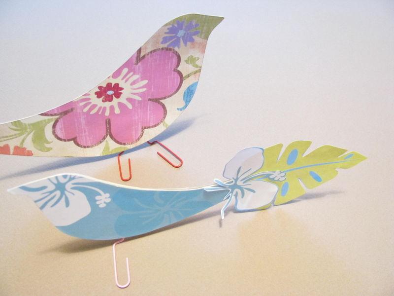 Scrapbook paper birds (2)