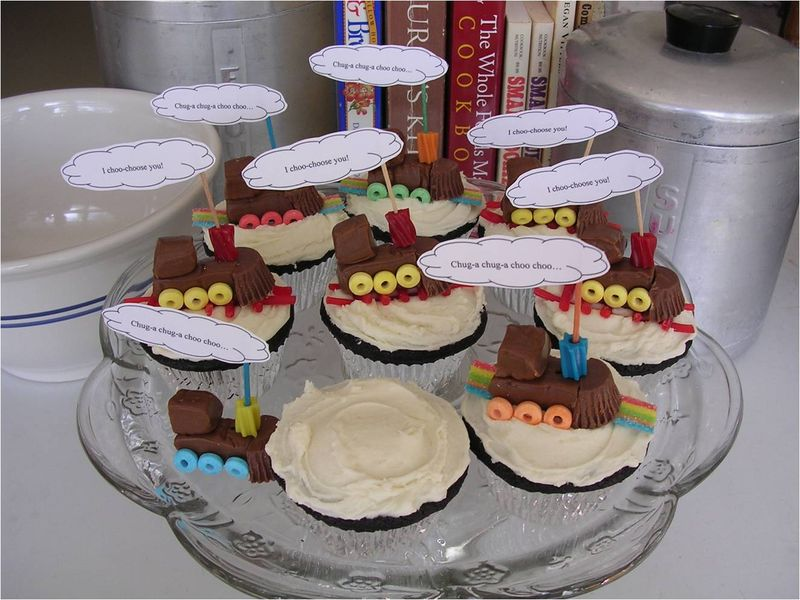 Chug-a chug-a cupcakes