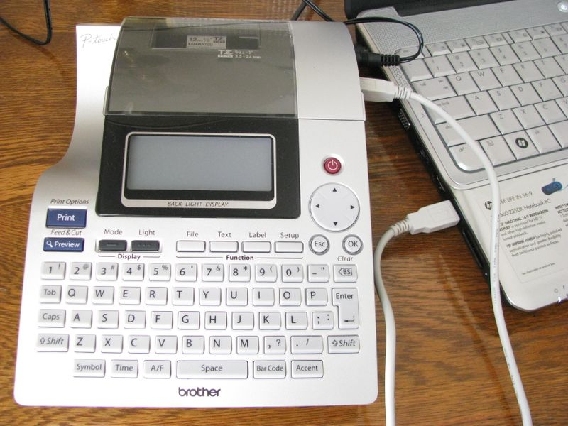 P-touch labeler