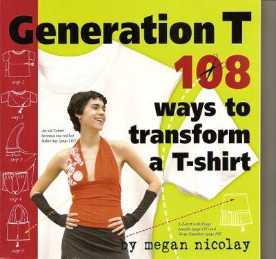 T-shirt book