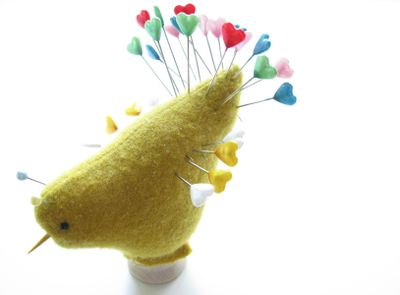 Chick pincushion