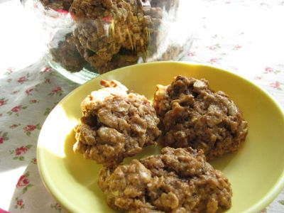 Oatmeal cookies clean eating
