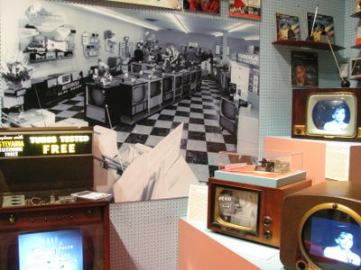 Mn history ctr 1950s tv store