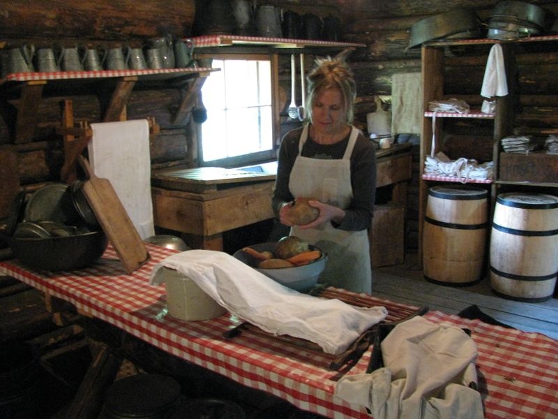 Forest history center logging camp kitchen grand rapids