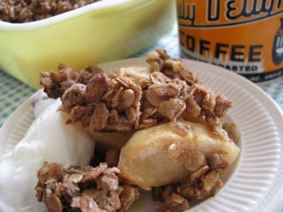 Good mornin' apple crisp