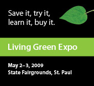 Living green expo ad