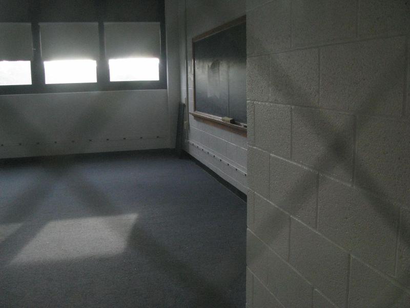 FAC empty classroom