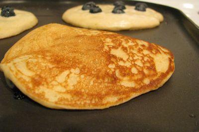 Oat cornmeal pancakes