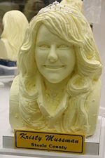 Princess kay 2008 butter sculpture