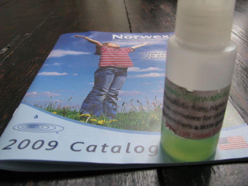 Norwex dishwashing liquid