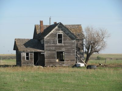 South dakota abandoned house