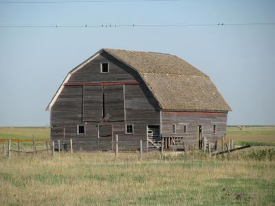 South dakota abandoned barn