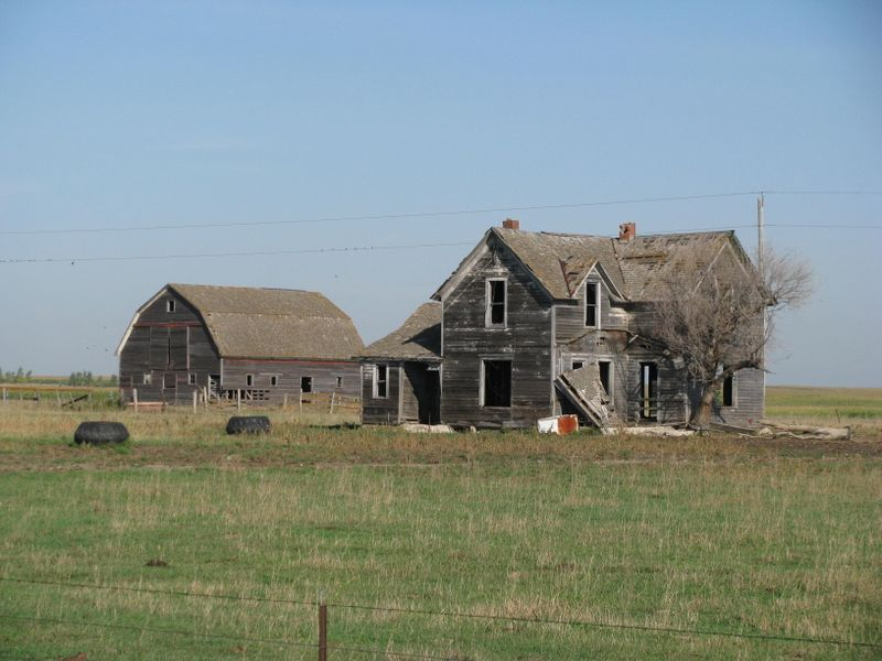 South dakota abandoned homestead