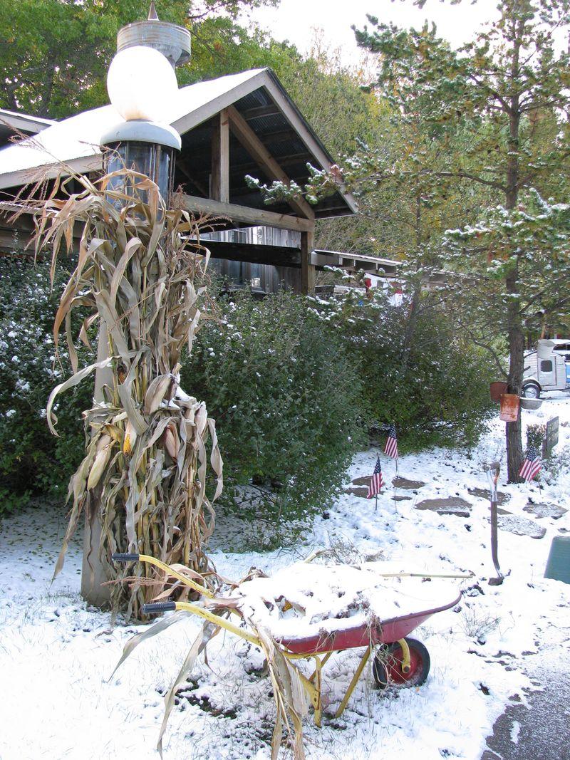 First snow oct 2009