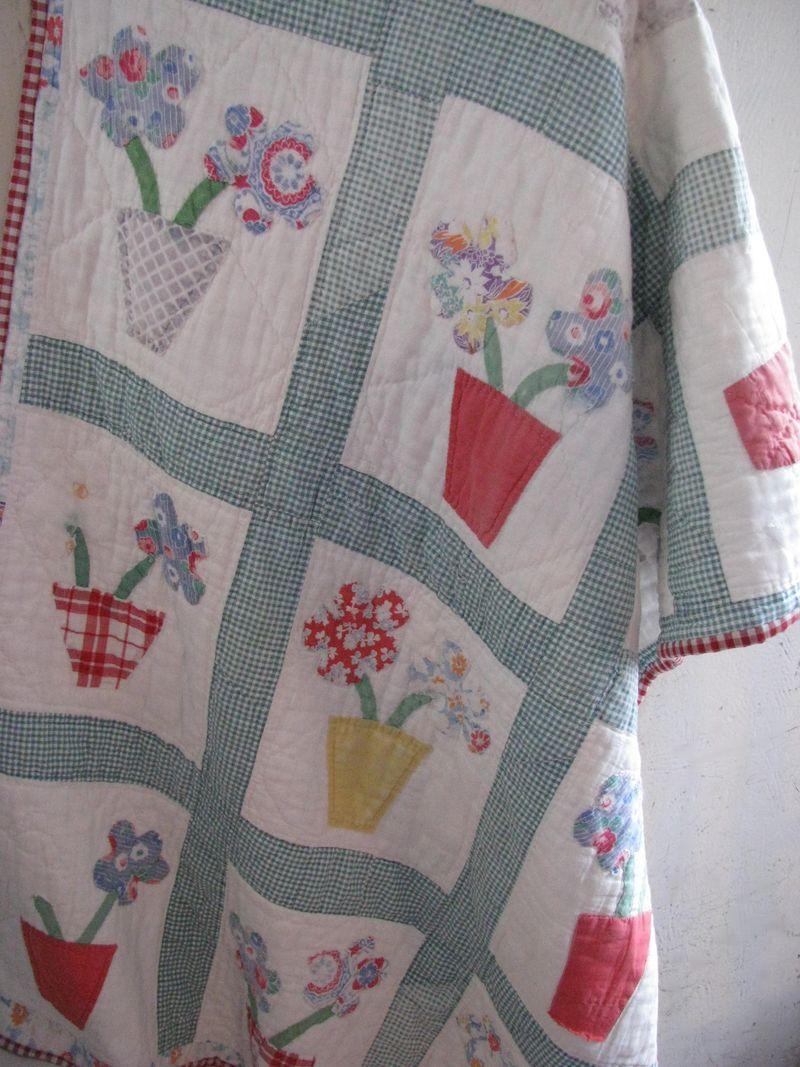 Flowerpot quilt