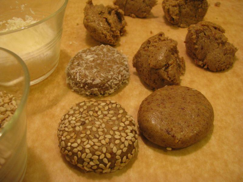 Oat flax cookies