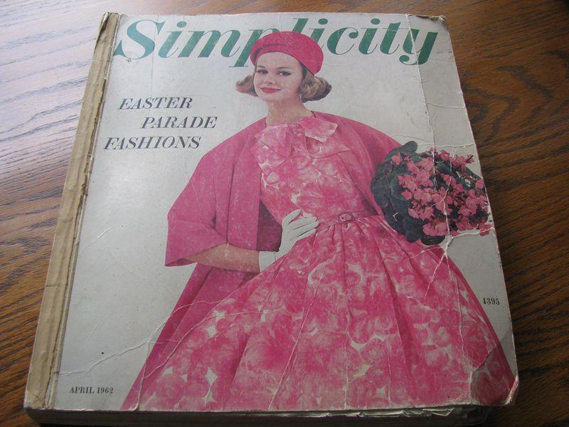 Simplicity pattern book 1962