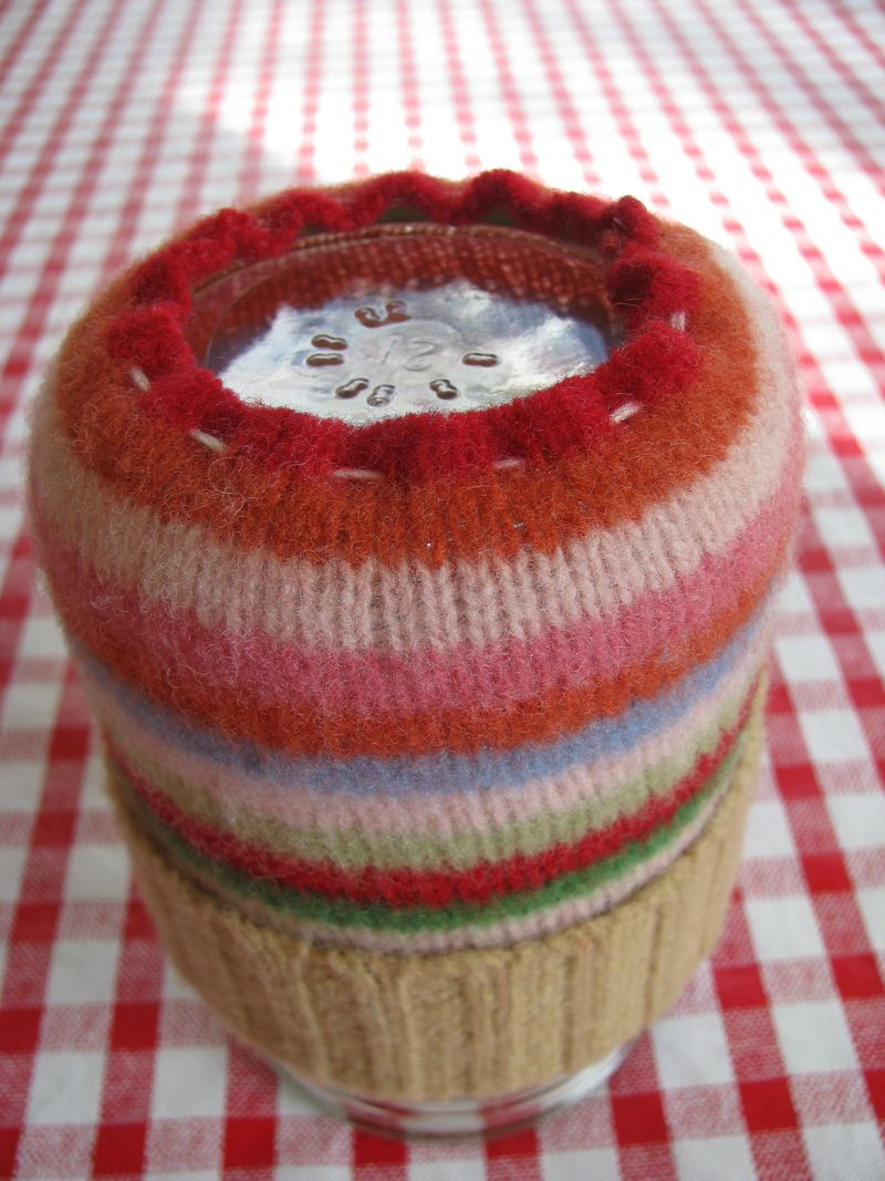 Jar cozy bottom