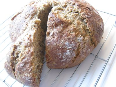 Flax soda bread1