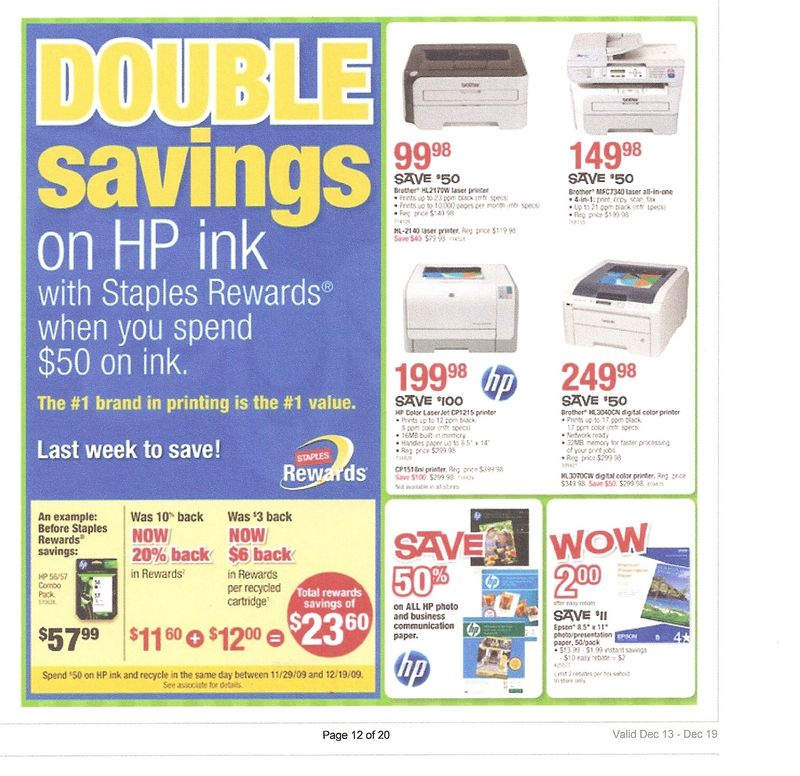 Staples double savings2