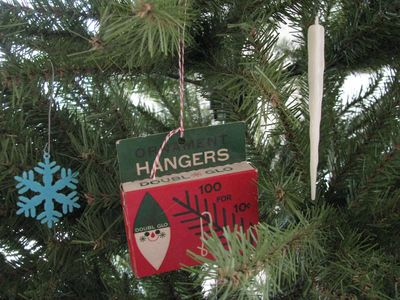 Childhood christmas tree ornaments