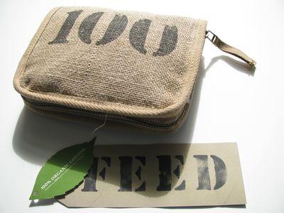 Feed 100 zippered bag