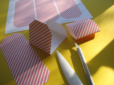 Cardvelopes striped