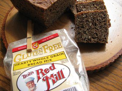 GF hearty whole grain bread mix
