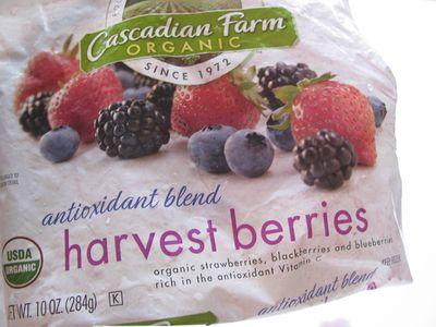 Mixed berries frozen
