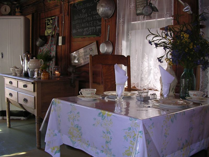 Tea room table