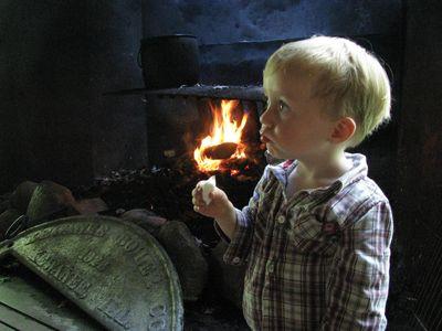 Mcmullen marshmallow roasting