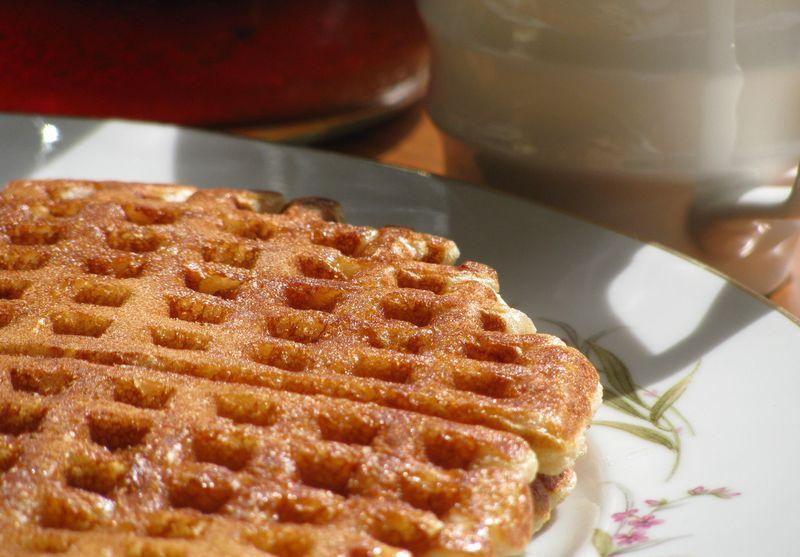 Cornmeal waffles1