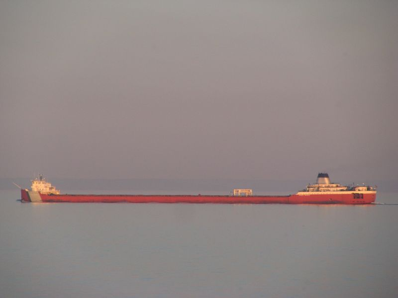 Taconite ship lake superior