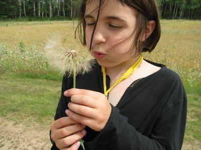 Madigan making a wish