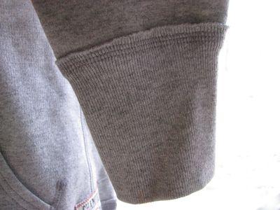 Sweatshirt cuff