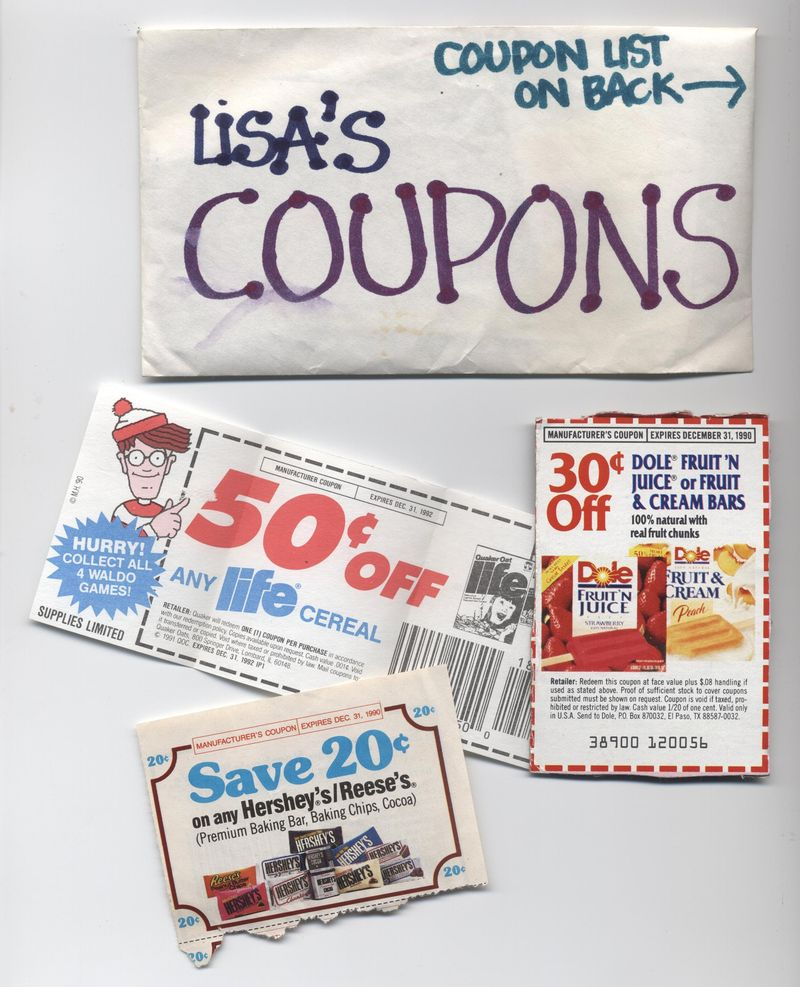 Lisa's coupons