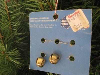 Shiny brite bells
