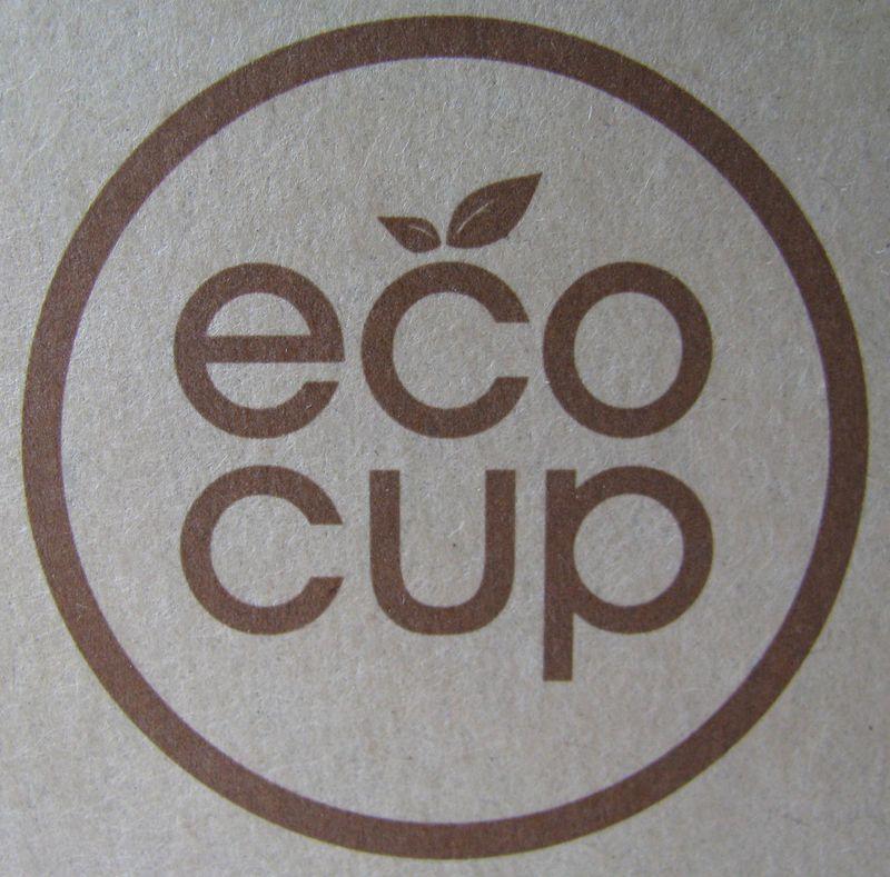 Eco cup logo