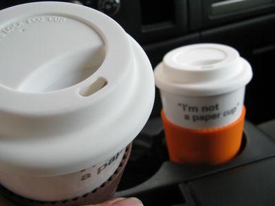 Eco cup cap