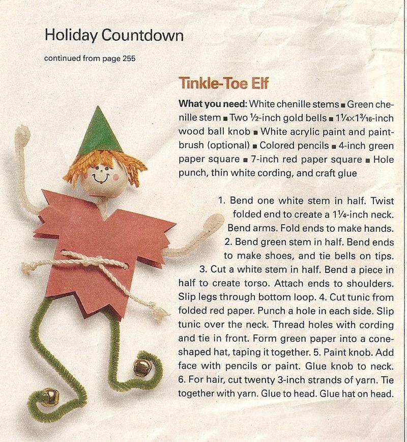 Elf directions
