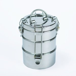 3-tier stainless steel lunch pail amazon